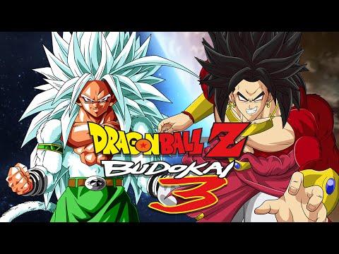 dbzb3 goku ssj5 vs broly ssj4 duels xem video clip