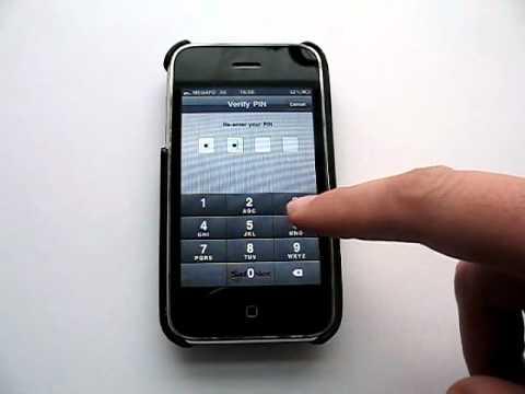 Генератор одноразовых паролей MobilePASS на iPhone