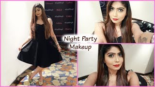 Step By Step Night Party Makeup Tutorial in Hindi | Rinkal Soni