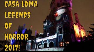 CASA LOMA LEGENDS OF HORROR 2017 (VLOGTOBER EP 3)