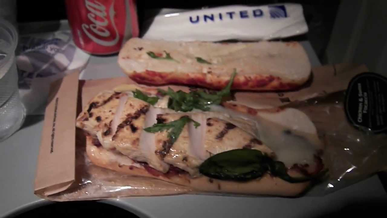 United Airlines Food For Purchase Menu