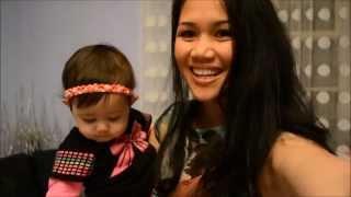 Em bé 1 tuổi  tập nói với mẹ - Annalisa LyLy