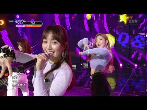뮤직뱅크 Music Bank - Q&A - Cherry Bullat(체리블랫).20190301