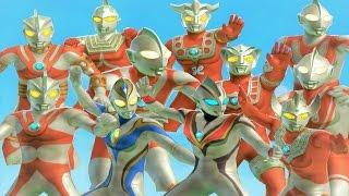 Sieu Nhan Game Play   Các tuyệt chiêu và khiên đỡ của Ultraman #2 Trong Game Ultraman FE3