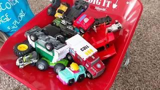 Crane Truck | Tow Truck | Wheelbarrow | Construction for Kids