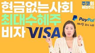 비자(VISA) 주식투자 총정리(주가, 핵심사업모델, 경쟁사 등) / 주코의 해외주식
