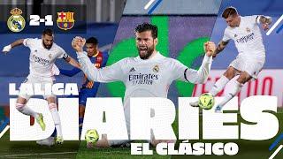 EL CLÁSICO victory! | Real Madrid 2-1 Barcelona | BTS