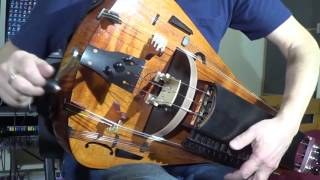 Andrey Vinogradov (hurdy-gurdy) - Hurdy-gurdy solo. Andrey Vinogradov playing Razvrastanata/Devoiko Mari Hubava