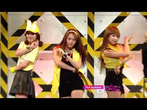음악중심 - F(X) - Hot Summer, 에프엑스 - 핫 섬머, Music Core 20110625