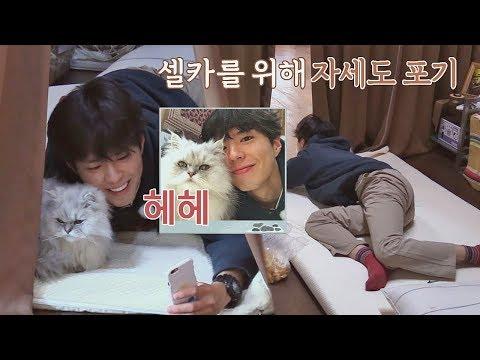 (얼굴 열일♥) 박보검, 셀카를 위해 자세는 포기한다…! 효리네 민박2 8회