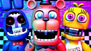 Five Nights at Freddy's Song (FNAF Withered SFM 4K)(TIFWhitney Remix)