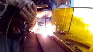 7 1/2 Hours of Stick Welding