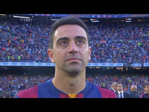 La Liga Celebration and Xavi's Emotional Farewell to FC Barcelona
