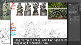 4 BƯỚC LÊN Ý TƯỞNG CHO 1 BỨC ENVIRONMET DESIGN - Phần 1 - PIGWORKSHOP