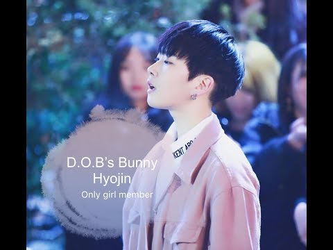 D.O.B's Bunny | HyoJin | Cute Moments