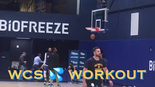 [HD] Willie Cauley-Stein 💦 workout at Warriors (0-0) practice, day b4 Opening Night vs LA Clippers