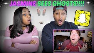 JASMINE'S SNAPCHAT GHOST STORY!!!   SHANE DAWSON