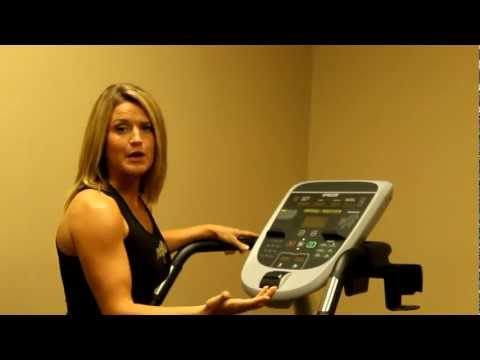 video Precor EFX 833 Commercial Series Elliptical Fitness Crosstrainer