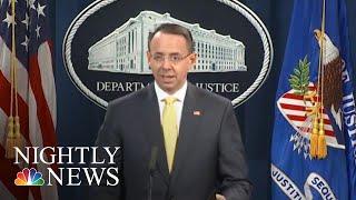 DOJ Seeks Probe Of FBI Conduct In 2016 Campaign After President Trump 'Spy' Claim | NBC Nightly News