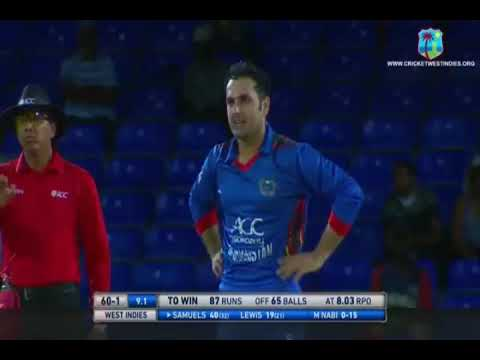 Afghanistan vs west Indies 3rd T20 highlights
