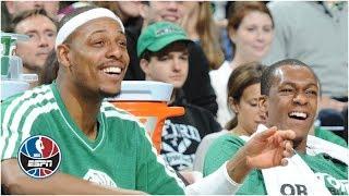 Paul Pierce reveals to Rajon Rondo his favorite Rondo plays ever   NBA Countdown