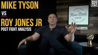Mike Tyson vs Roy Jones Jr. Here's What Happened...