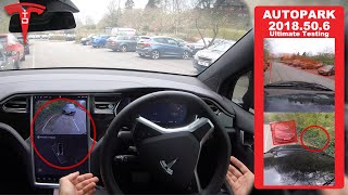 Ultimate Tesla Autopark Updated Testing - Is Self Parking Really Any Good?