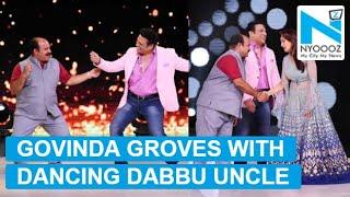 Govinda meets Dancing uncle on Madhuri's 'Dance Deewane'..