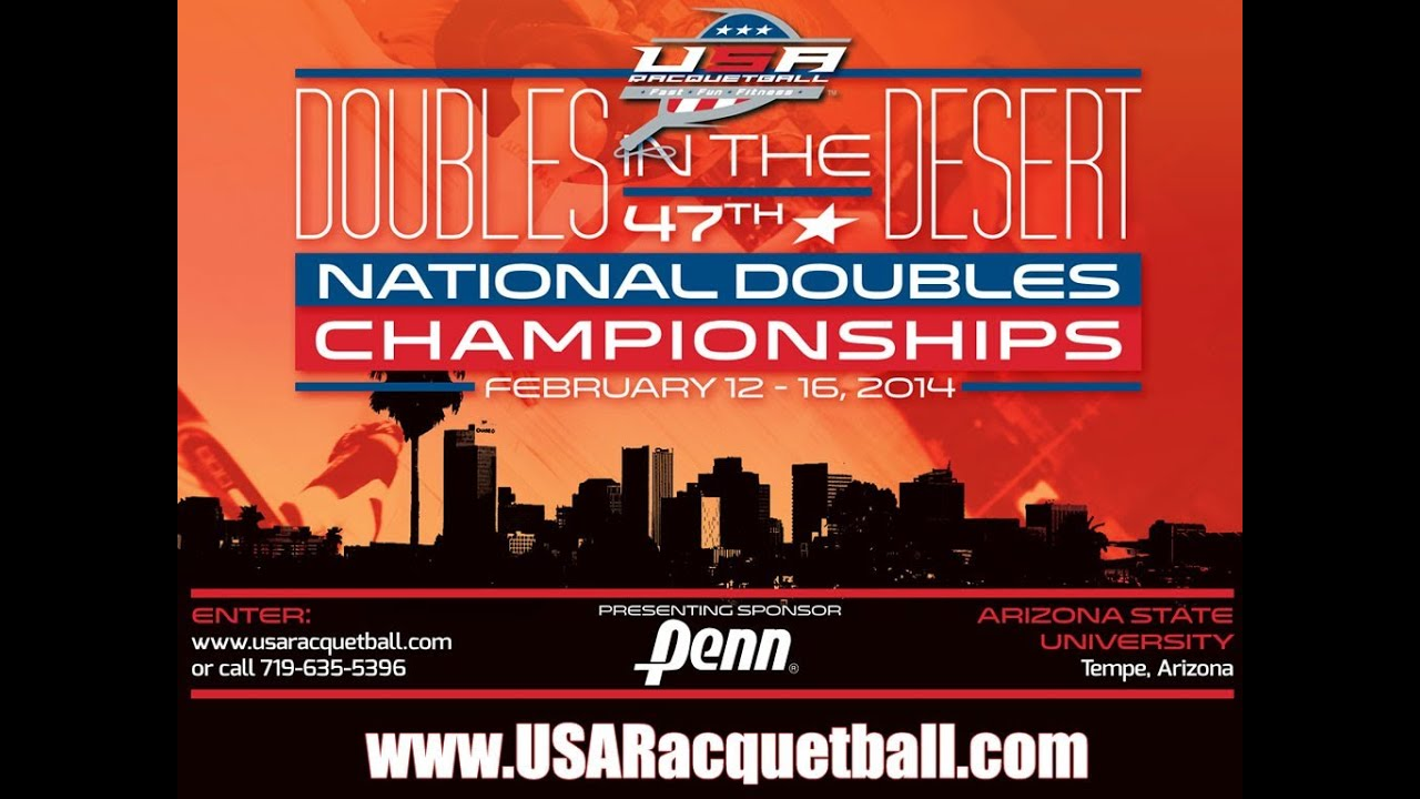 USA Racquetball National Doubles Championships Ad - 2014 ...