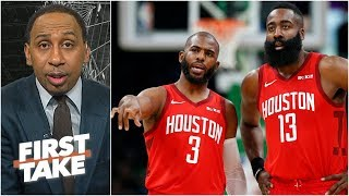 Rockets not yet the biggest threat to the Warriors in the West – Stephen A. | First Take