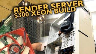 LGA1155 render server build!