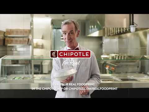 Real Foodprint compares average values for each of Chipotle's 53 real ingredients to their conventional counterparts against five (5) key metrics: Less Carbon in the Atmosphere, Gallons of Water Saved, Improved Soil Health, Organic Land Supported, and Antibiotics Avoided.