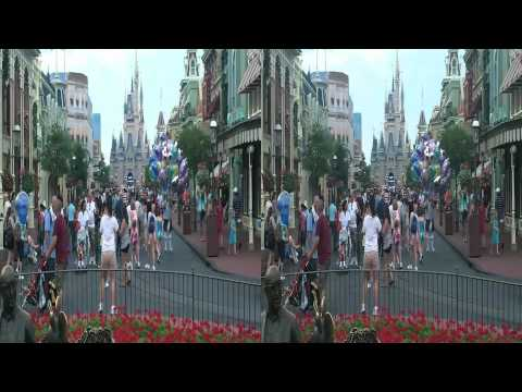 Disney World Main Street in 3D (yt3d:enable=true)