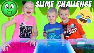 Gelli Baff Toy Slime Challenge & Huge Slime Fight - GROSS BOOGERS!