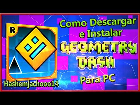 Como descargar e Instalar Geometry Dash Full Para PC /WINDOWS 7,8,8.1 ...