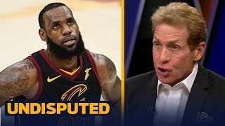 Skip Bayless and Shannon Sharpe discuss LeBron 'trash-talking' Steph Curry | NBA | UNDISPUTED