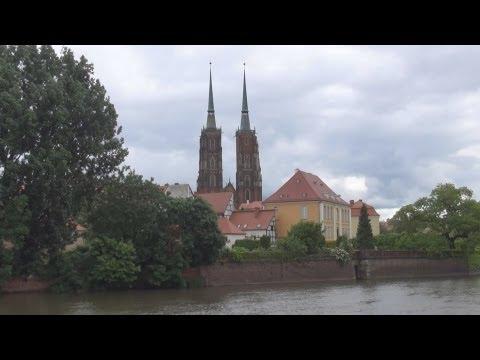 [3DHD] Cathedral Island, Wroclaw, Poland / Dominsel, Breslau, Polen / Ostrów Tumski, Wrocław, Polska