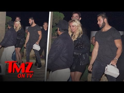 Britney Spears' New Man Has His Hands Full with Her! | TMZ TV