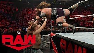 The Viking Raiders vs. Mark Andrews & Flash Morgan Webster: Raw, Nov. 11, 2019