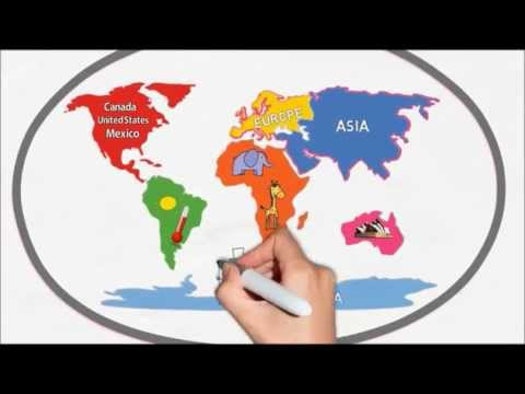 Map Of Canada Song.The Seven Continents Song Silly School Songs Viewpure