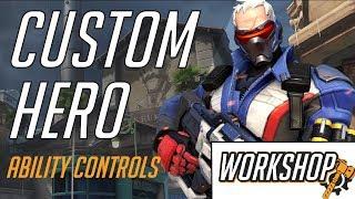 Making a Custom Hero In Overwatch Workshop: Ability Controls