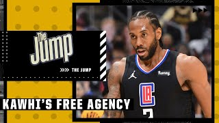 Should the Clippers be concerned by Kawhi Leonard's ongoing free agency? | The Jump