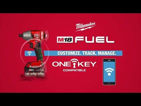 Milwaukee M18ONEIWF38-0 M18 One Key Impact Wrench 3/8 Drive Body Only