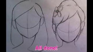 ♡Quick Tips♡ How to draw cute hairstyles for BEGINNERS (part 1)