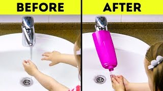 17 BATHROOM HACKS AND CRAFTS FOR KIDS