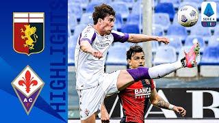 Genoa 1-1 Fiorentina | Spoils Shared at Luigi Ferraris as Destro and Vlahovic Score | Serie A TIM