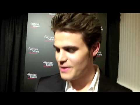 Paul Wesley Celebrates 100 Episodes of THE VAMPIRE DIARIES ...