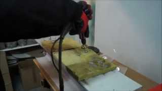 Zgrzewanie gwoździ typu GZO do konstrukcji stalowej pokrytej farbą