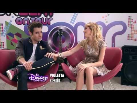 Violetta saison 3 - Bande annonce : Violetta & Leòn