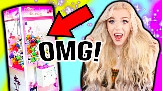 I BOUGHT A REAL CLAW MACHINE!!!